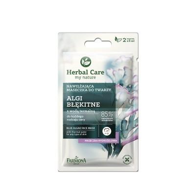Herbal Care Blue Algae Face Mask 2 x 5 ml