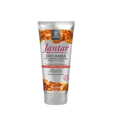 Jantar Amber Duo-Mask Very Damaged Hair 200 ml