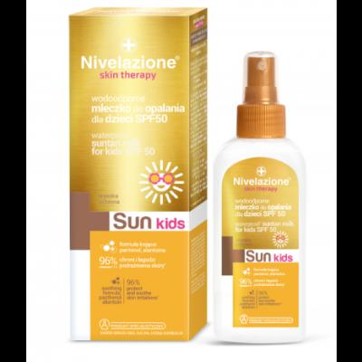 Nivelazione Kids Skin Therapy Waterproof Suntan Milk SPF50 150 ml