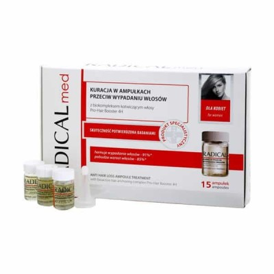 Radical Women Med Anti Hair Loss Treatment 15 x 5 ml