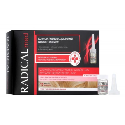 Radical Med Stimulating Hair Growth Treatment 15 x 5 ml