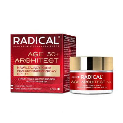 Radical Age Architect 50+ Anti-Wrinkle Cream SPF15 50 ml