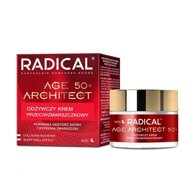 Radical Age Architect 50+ Anti-Wrinkle Night Cream SPF15 50 ml