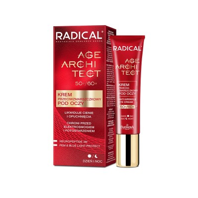 Radical Age Architect 50+/60+ Anti-Wrinkle Eye Cream 15 ml