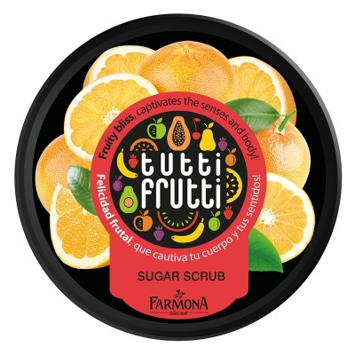 Tutti Frutti Grapefruit Body Sugar Scrub 160 g