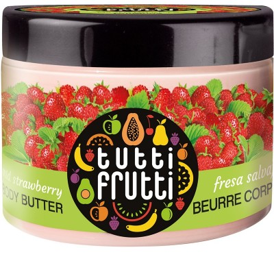 Tutti Frutti Wild Strawberry Body Butter 150 ml