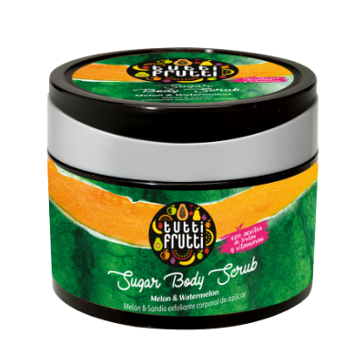 Tutti Frutti Melon & Watermelon Body Sugar Scrub 300 g