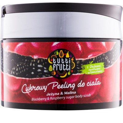 Tutti Frutti Blackberry & Raspberry Body Sugar Scrub 300 g