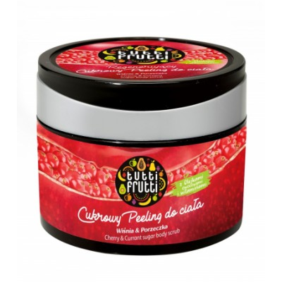 Tutti Frutti Cherry & Currant Body Sugar Scrub 300 g