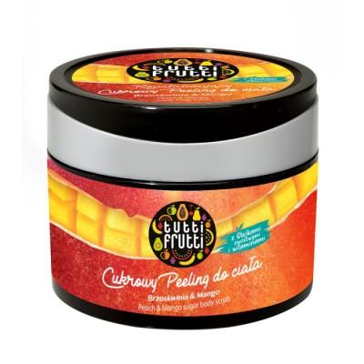 Tutti Frutti Peach & Mango Body Sugar Scrub 300 g