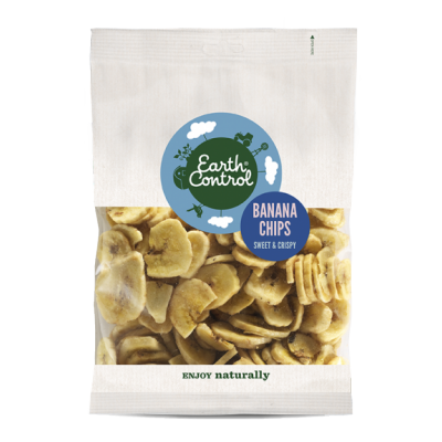 Earth Control Banana Chips 250 g