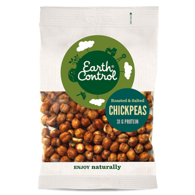 Earth Control Dry Roasted Chickpeas 150 g