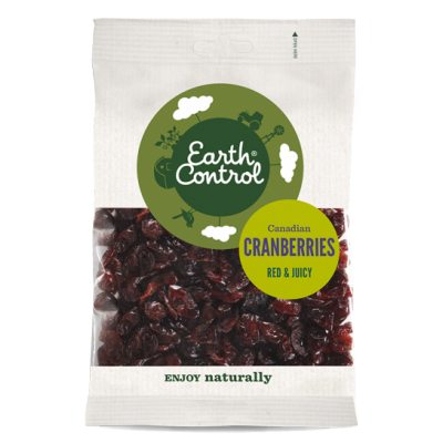Earth Control Canadian Dried Cranberries 125 g