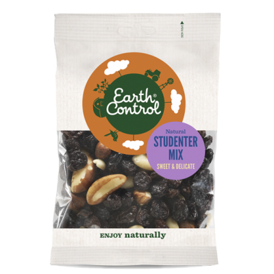 Earth Control Naturell Studentmix 200 g