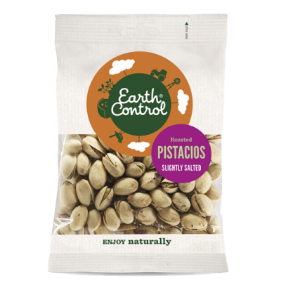 Earth Control Roasted Pistacios 80 g