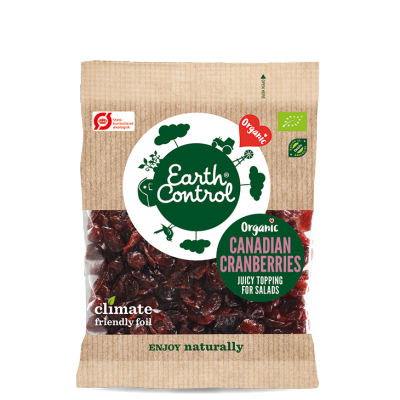 Earth Control Dried Cranberries Eco 100 g