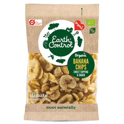 Earth Control Banana Chips Eco 200 g