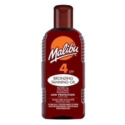 Malibu Bronzing Tanning Oil SPF4 200 ml
