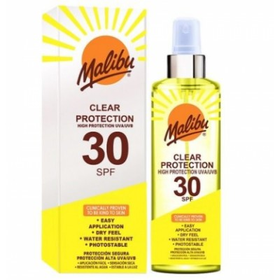 Malibu Clear All Day Sun Protection SPF30 250 ml