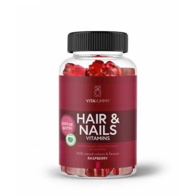 VitaYummy Hair & Nails Vitamins 60 kpl