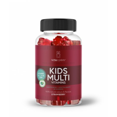 VitaYummy Mutivitamines Kids 60 st