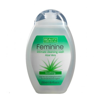 Beauty Formulas Feminine Intimate Aloe Vera Wash 250 ml