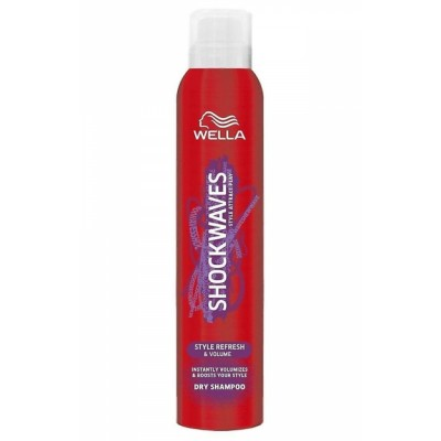 Wella Shockwaves Volume Dry Shampoo 180 ml