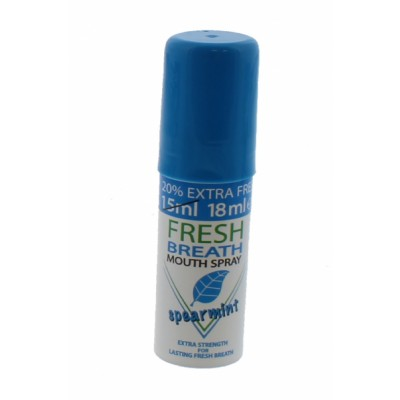 Fresh Breath Mouth Spray Spearmint 18 ml