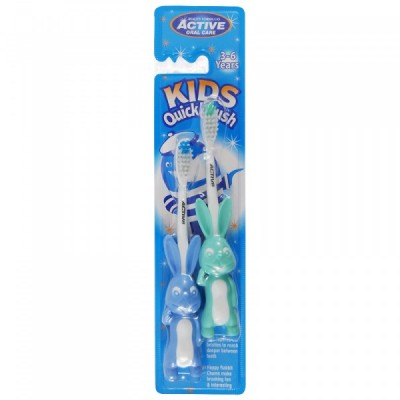 Active Oral Care Kids Rabbit Quick Brush 3-6 Years 2 pcs