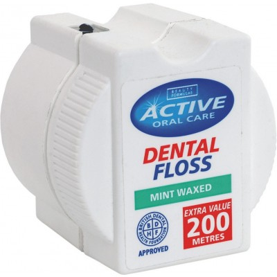 Active Oral Care Mint Dental Floss 200 m