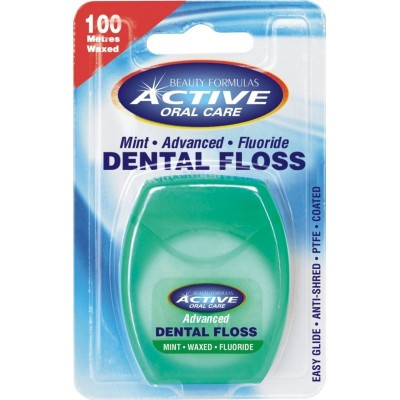 Active Oral Care Advanced Mint Fluor Tanntråd 100 m