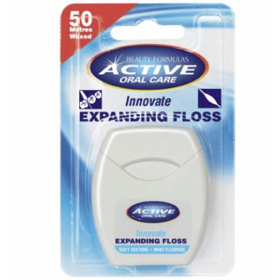 Active Oral Care Innovate Mint Fluoride laajeneva hammaslanka 50 m