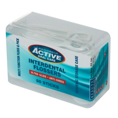 Active Oral Care Interdental Flossers 50 st