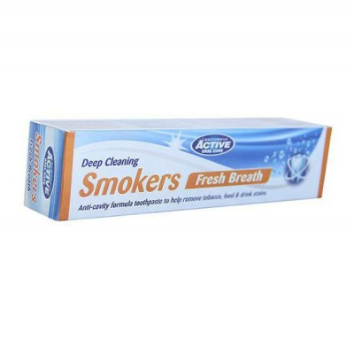 Active Oral Care Smokers Fresh Breath Toothpaste 100 ml