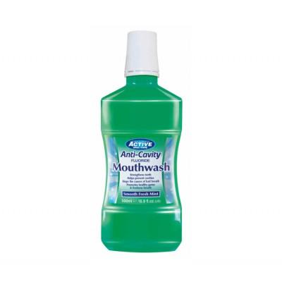 Active Oral Care Anti-Cavity Smooth Fresh Mint Munnvann 500 ml