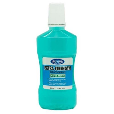 Active Oral Care Extra Strength Cool Mint Munnvann 500 ml