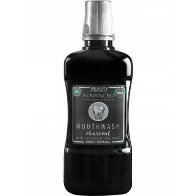 Beauty Formulas Charcoal Mouthwash 500 ml