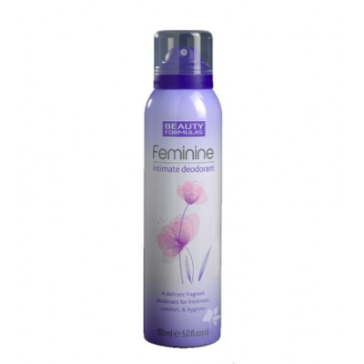Beauty Formulas Feminine Intimate Deospray 150 ml
