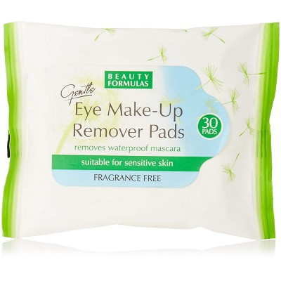 Beauty Formulas Gentle Eye Make-Up Remover Pads 30 st