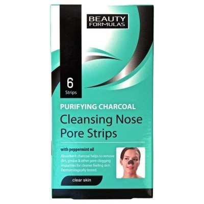 Beauty Formulas Purifying Cleansing Nose Pore Strips 6 kpl