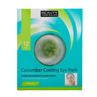 Beauty Formulas Cucumber Cooling Eye Pads 12 st