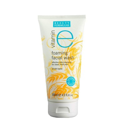 Beauty Formulas Vitamin E Foaming Facial Wash 150 ml