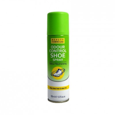 Beauty Formulas Odour Control Shoe Spray 150 ml