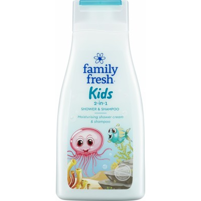 Family Fresh Kids Shower & Shampoo 500 ml