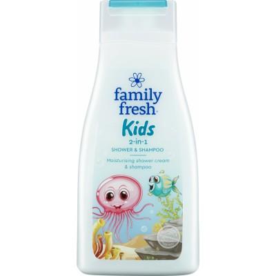 Family Fresh Kids Shower & Shampoo 500 ml