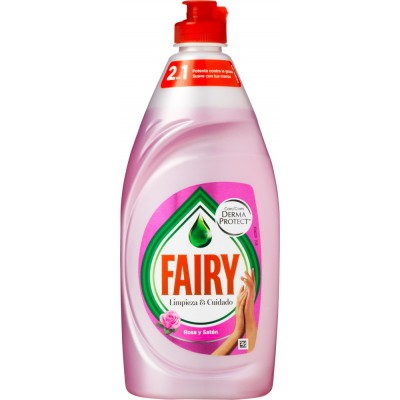 Fairy Clean & Care Dish Soap Rose & Satin 500 ml