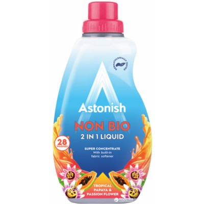 Astonish Non Bio 2in1 Liquid Laundry Papaya & Passion 840 ml