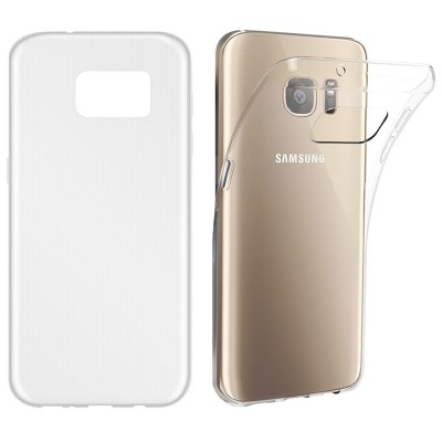 BasicsMobile Samsung S7 Clear Ultra Thin & Soft Cover Samsung S7