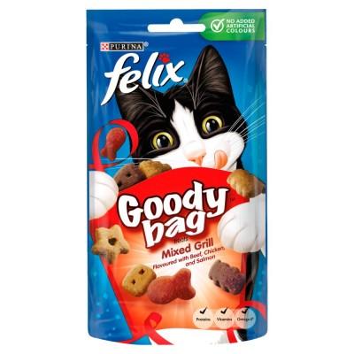 Felix Goody Bag Treats Mixed Grill 60 g