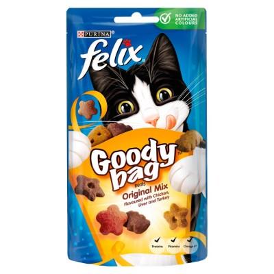 Felix Goody Bag Treats Original Mix 60 g